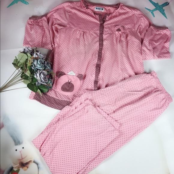 40472aa8719d Cute cotton pajama set. M 5ac6fc49a825a6eeb15f8cee